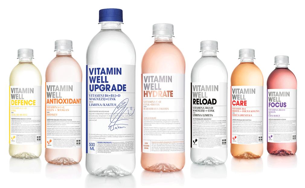 Pester izbor Vitamin Well pijač v naši ponudbi.